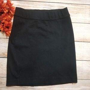Citizens of humanity black stretch pencil skirt.